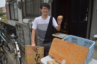 初夏!青空!野菜販売会!